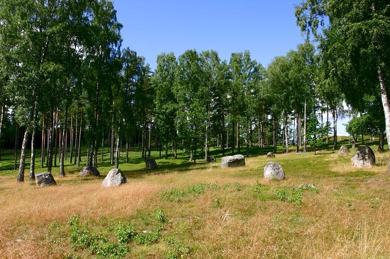 Kamenný kruh Blomsholm, Švédsko.