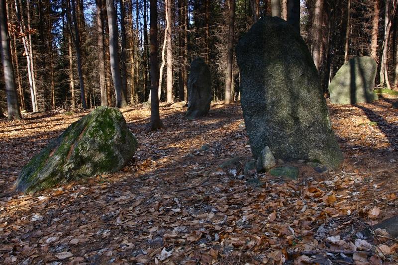 Chlístovské menhiry.