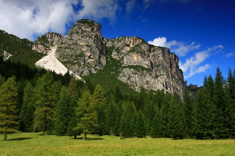 Dolomity, Val Pramper.