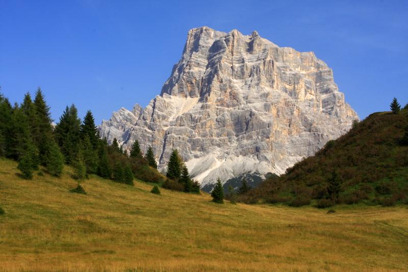 Dolomity, Monte Pelmo.