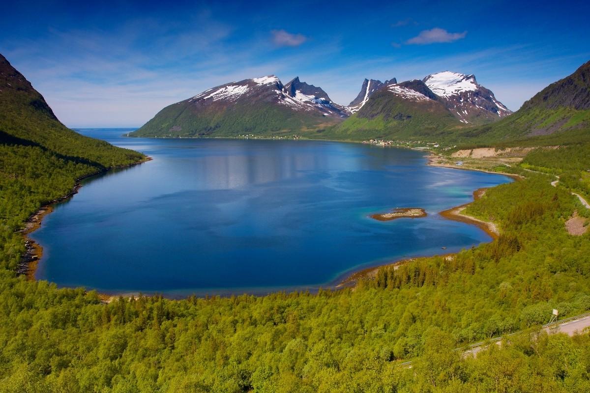 Bergsfjord.
