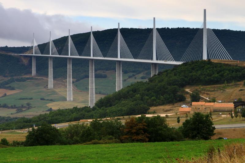 Viaduct Millau.