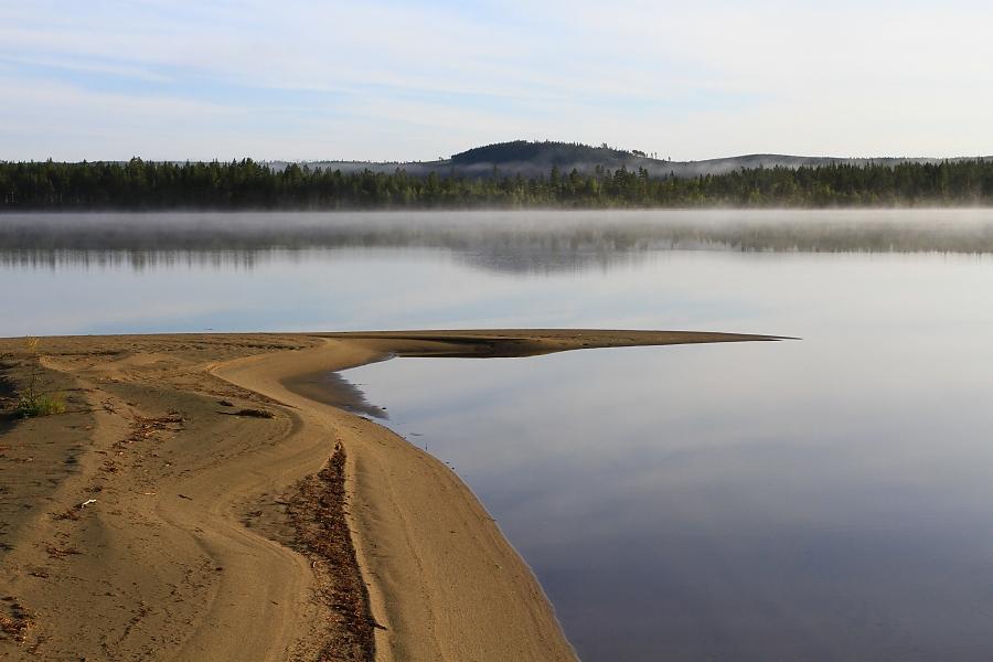 Jezero Ratanssjön.