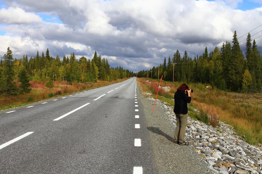 Krajina severního Švédska.